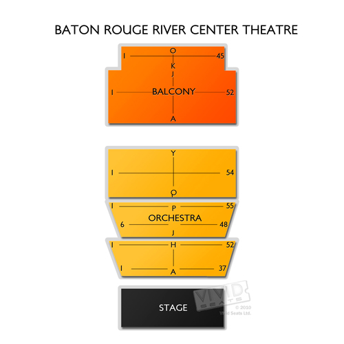 Baton Rouge River Center Theatre