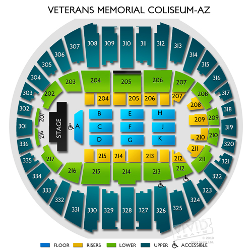 Veterans Memorial Coliseum-AZ