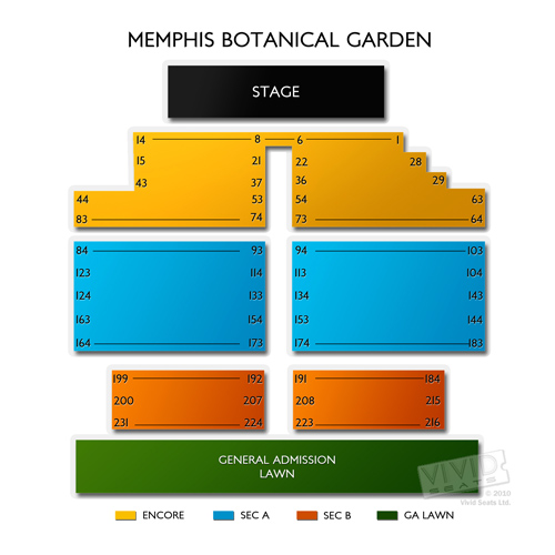 Live at the Memphis Botanical Garden