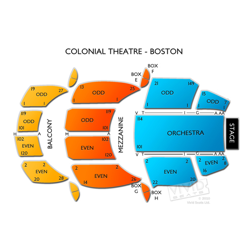 Colonial Theatre Boston