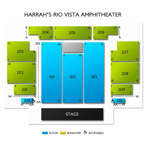 Harrahs Rio Vista Outdoor Amphitheater