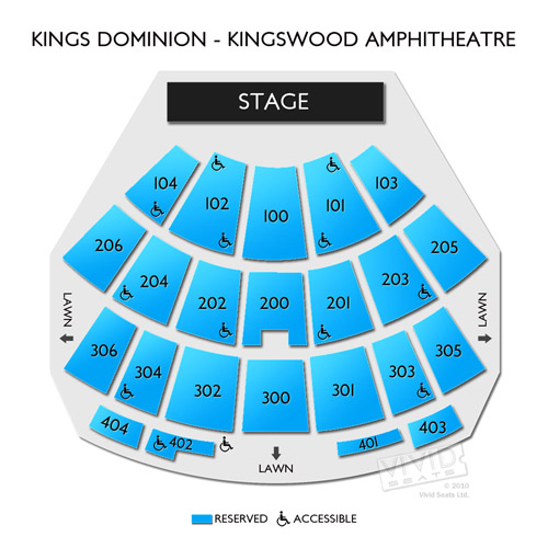 Kings Dominion - Kingswood Amphitheatre