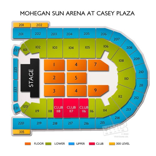 Mohegan Sun Arena at Casey Plaza