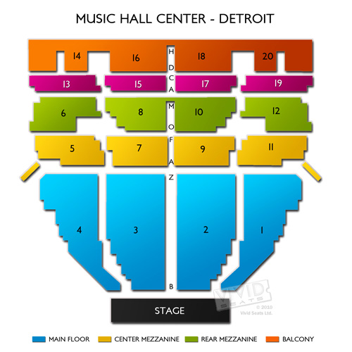 Music Hall Center - Detroit