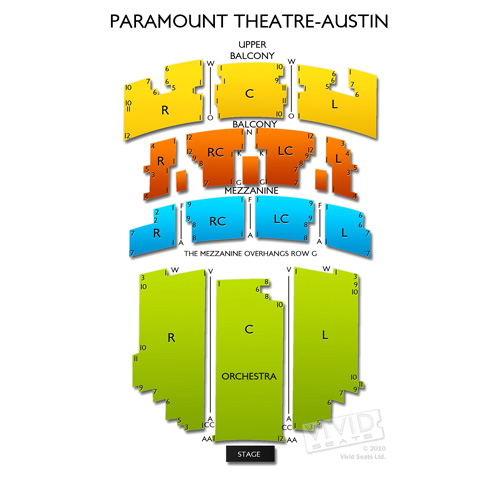 Paramount Theatre - Austin