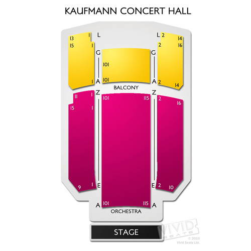 Kaufmann Concert Hall