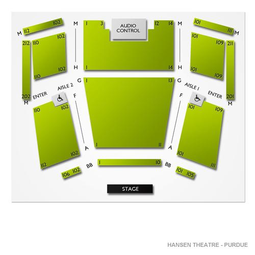 Hansen Theatre - Purdue