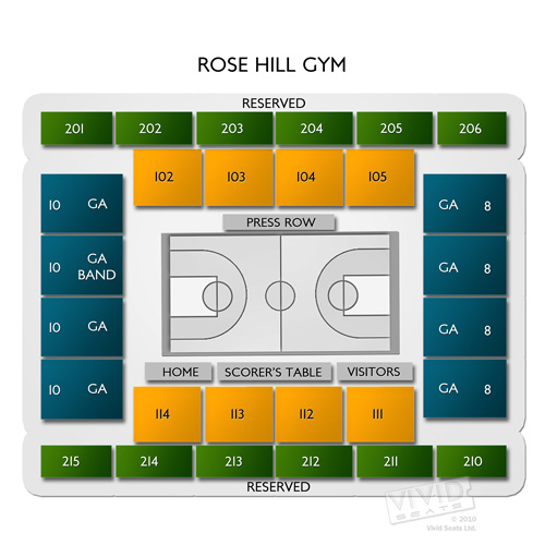 Rose Hill Gym