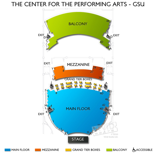 The Center For The Performing Arts - GSU