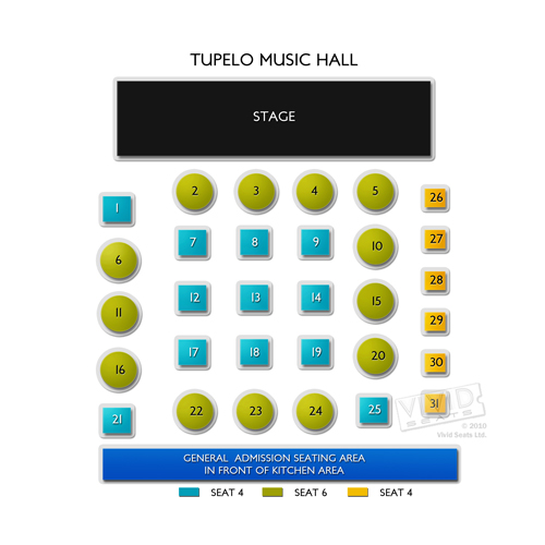 Tupelo Music Hall - NH