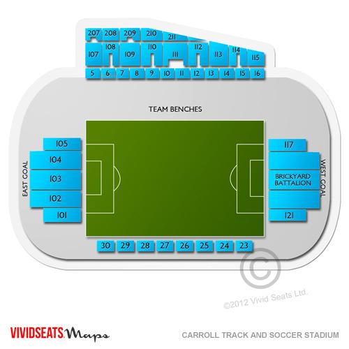 Carroll Track and Soccer Stadium