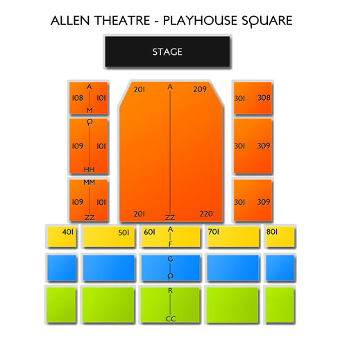 Allen Theatre - Playhouse Square