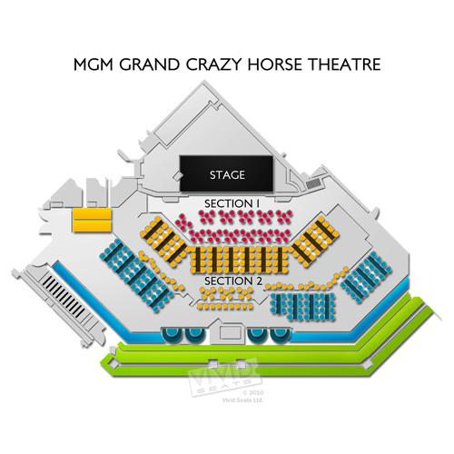 MGM Grand Crazy Horse Theatre