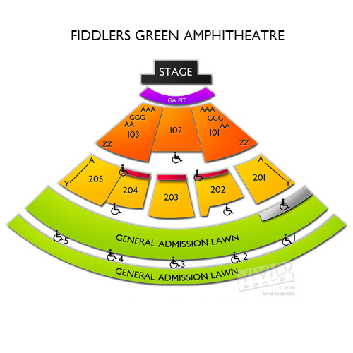 Fiddlers Green Amphitheatre
