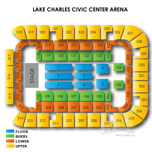 Lake Charles Civic Center Arena