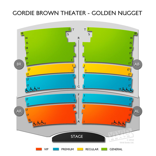 Gordie Brown Theater - Golden Nugget