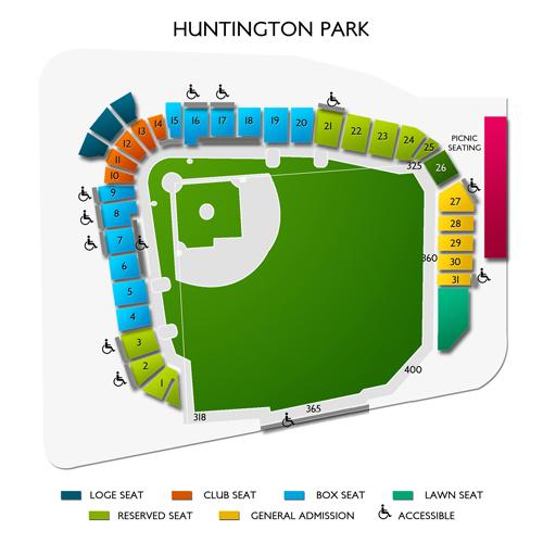 Huntington park seating chart vivid seats