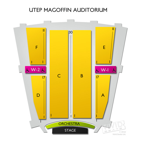 UTEP Magoffin Auditorium