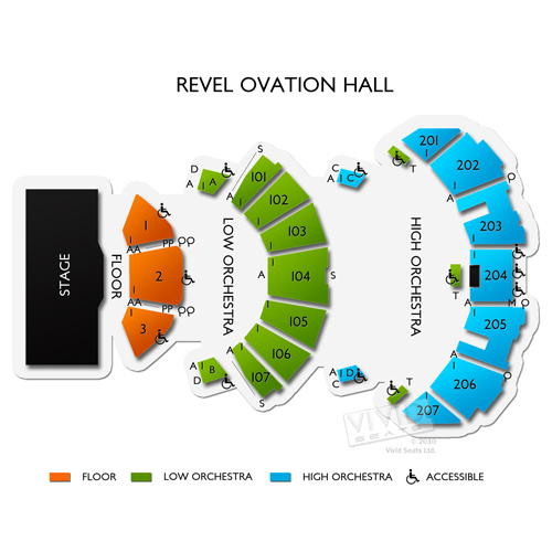 Revel Ovation Hall