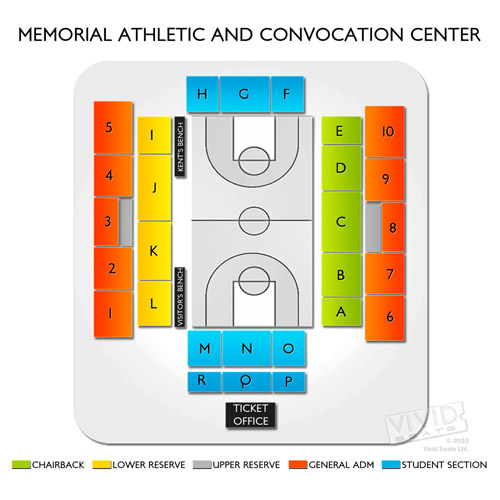Memorial Athletic and Convocation Center