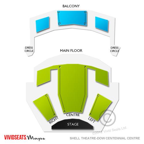 Shell Theatre-Dow Centennial Centre