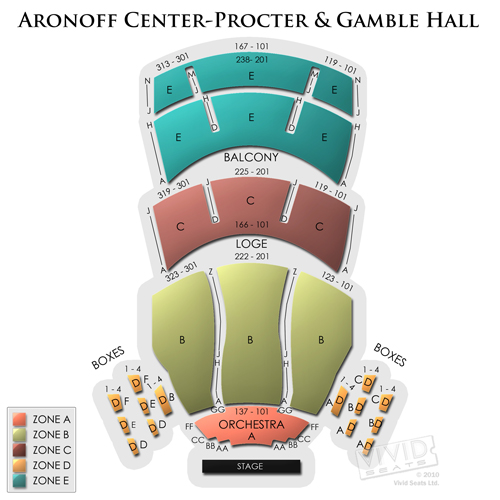 Aronoff Center - Procter and Gamble Hall
