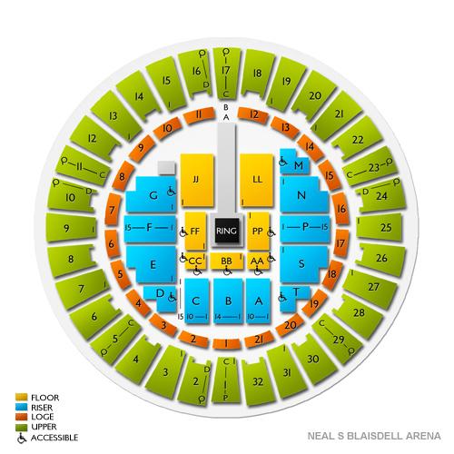Neal S Blaisdell Arena