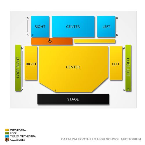 Catalina Foothills High School Auditorium