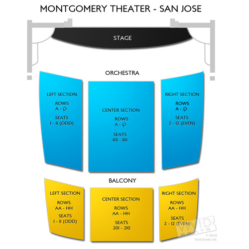 Montgomery Theater - San Jose