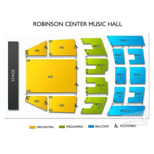 Robinson Center Music Hall