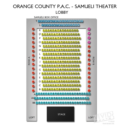 Orange County P.A.C. - Samueli Theater