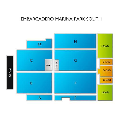 Embarcadero Marina Park South