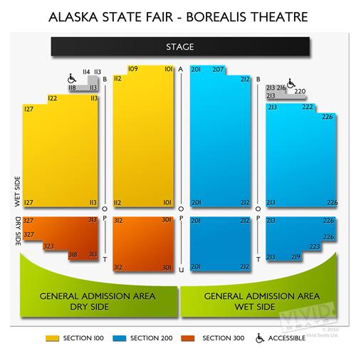 Alaska State Fair - Borealis Theatre
