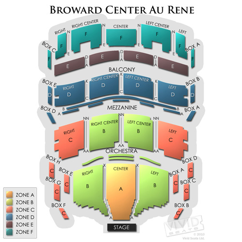 Broward Center Au Rene