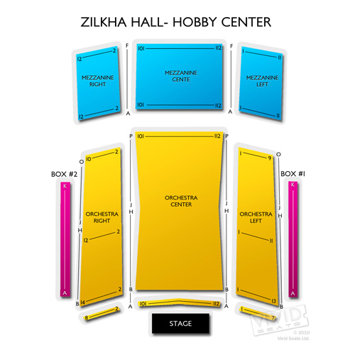Zilkha Hall - Hobby Center