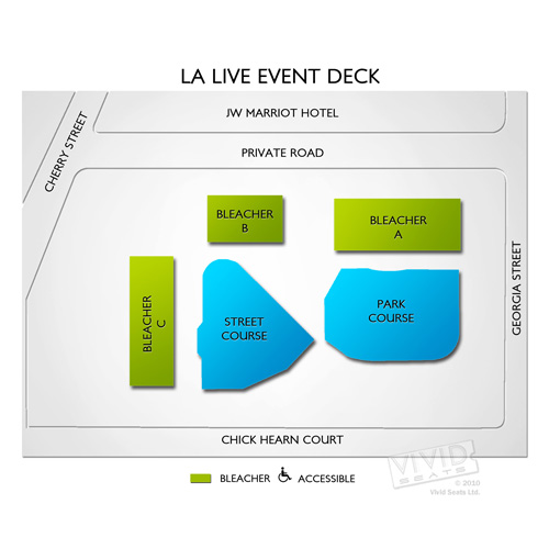 LA Live Event Deck