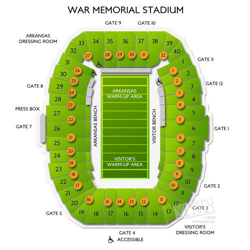 War Memorial Stadium-AR