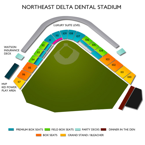 Northeast Delta Dental Stadium