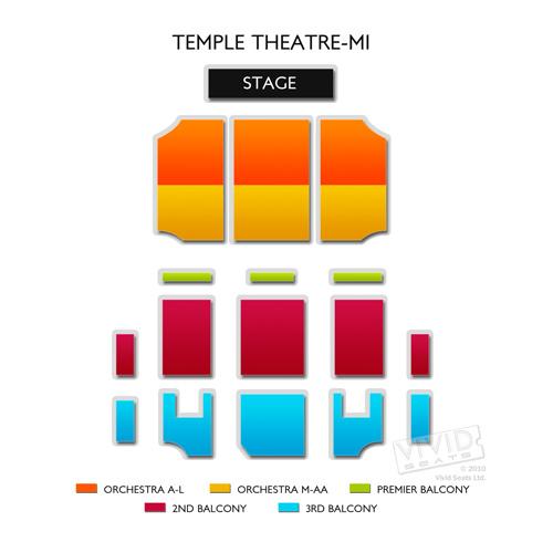 Temple Theatre-MI
