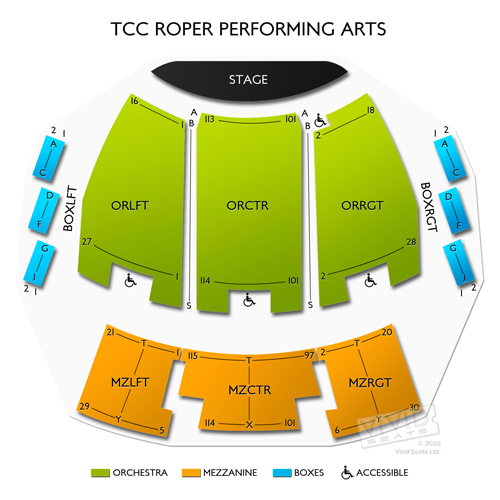 TCC Roper Performing Arts