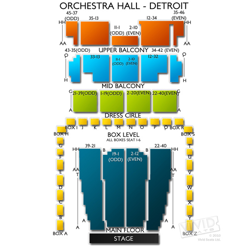 Orchestra Hall - Detroit