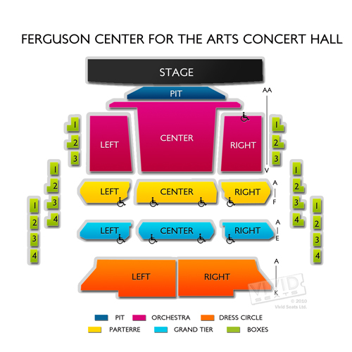 Ferguson Center for the Arts Concert Hall