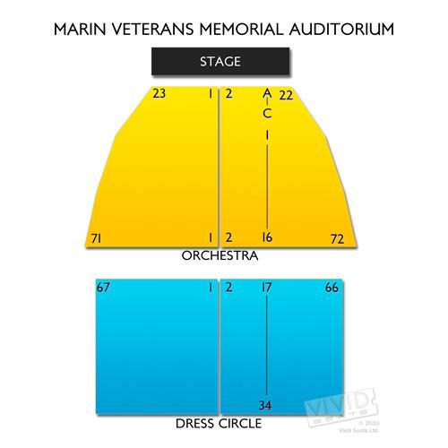 Marin Veterans Memorial Auditorium