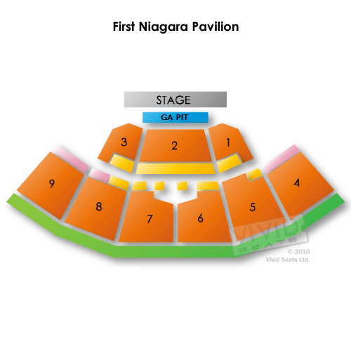 First niagara pavilion interactive seating chart kendi