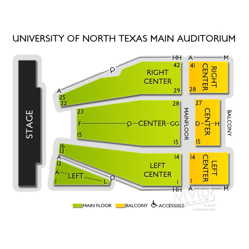 University of North Texas Main Auditorium