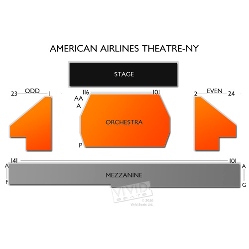 American Airlines Theatre-NY