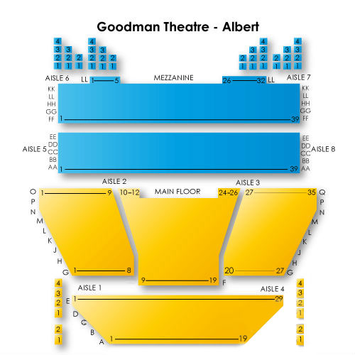 Goodman Theatre - Albert