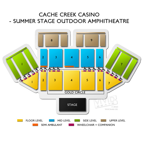 Cache Creek Casino - Summer Stage Outdoor Amphitheatre