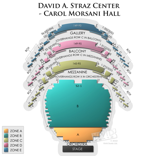 David A. Straz Center - Carol Morsani Hall