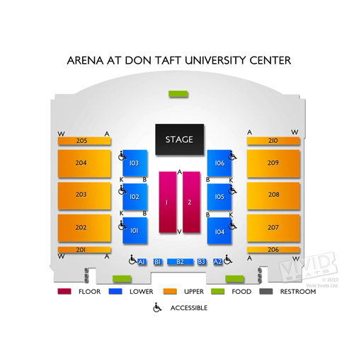 Arena at Don Taft University Center
